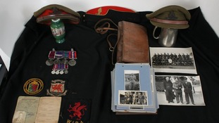 War memorabilia and photos