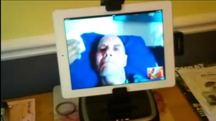 Video call to Peter in Olongapo City.