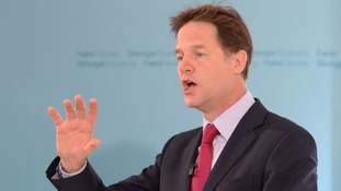 "Nick Clegg has said women in the party felt ""let down"" by the way their complaints were handled"