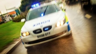 Police were forced to use 'tactical contact' to stop vehicle
