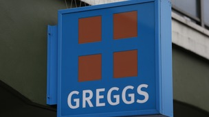 A stock photo of a branch of Greggs bakery.