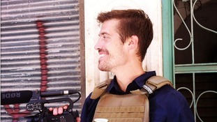 James Foley, Aleppo, Syria pictured in July 2012