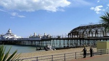 Cumbrian man dies after fall from Eastbourne pier