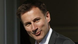 Culture Secretary, Jeremy Hunt
