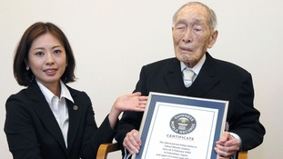 Sakari Momoi has been officially named the oldest man in the world.