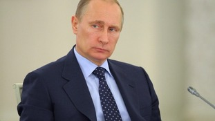 Vladimir Putin is thought to be too busy to take the Ice Bucket Challenge.