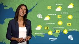 Wednesday's ITV Meridian weather