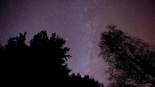 Stars over Exmoor