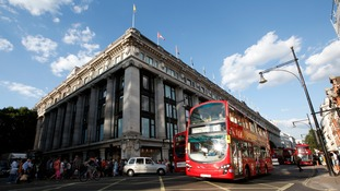 "Oxford Street was named on the list of ""dangerous areas""."