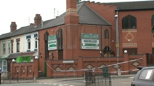 Noor-Ul-Uloom mosque in Small Heath near where the attack took place