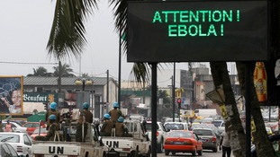 Liberia is under a nationwide curfew due to the Ebola virus.