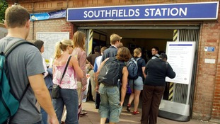 The prices of homes close to Southfields station are £52,000 higher than other homes a mile away.