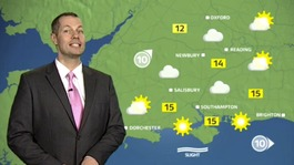 Thursday's weather outlook