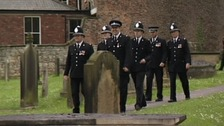 Police pay tribute