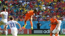 Fer scored the the Netherlands at the World Cup.