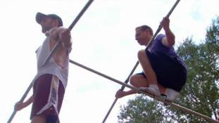 Wallenda prepares for Niagara Falls tightrope walk