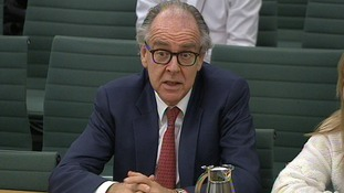 Lord Falconer pictured ahead of a debate in to assisted dying.