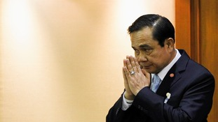Thai Army chief General Prayuth Chan-ocha