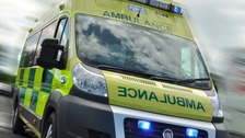 Two car accident in Bewdley, Worcestershire