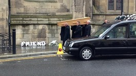 Liam Sweeney's funeral takes place