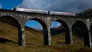 The West Highland Railway is one of Britain's most scenic routes