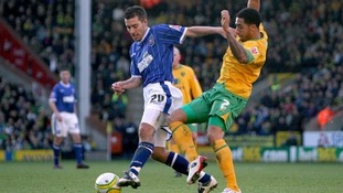Darren Ambrose is training with Ipswich.