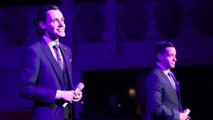 Richard and Adam Johnson starred in Britain's Got Talent.