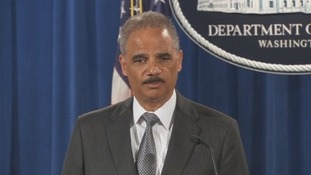 US Attorney General Eric Holder.