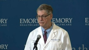 Dr Bruce Ribner, from the hospital's infectious disease unit