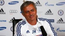Mourinho undergoes the ice bucket challenge