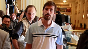 US journalist James Foley pictured in May 2011.