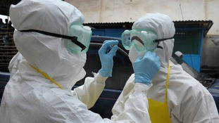 Liberia has quarantined entire neighbourhoods to try to stop the spread of the deadly virus