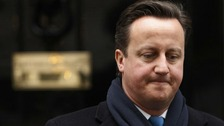 David Cameron faced the Leveson Inquiry today