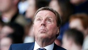 Redknapp reacts to Tottenham departure