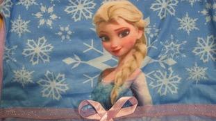 Image on a fake Disney dress