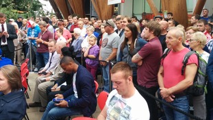 Hundreds gather to see Kell Brook after IBF title victory