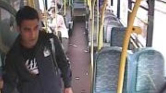 CCTV of Serial Sex Attacker Anjan Shahzad Charged With  4 Offences On 268 Bus In Dewsbury Between May And August