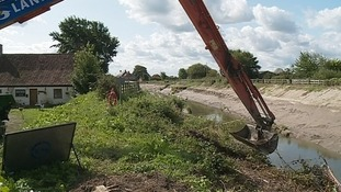 120,000 tonnes has been removed from the Rivers Parrett & Tone
