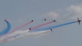 2014 is the 50th display season for the Red Arrows