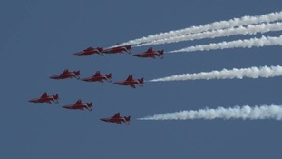 The Red Arrows are made up of pilots, engineers and essential support staff