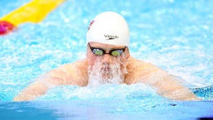Adam Peaty in action earlier this week