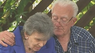 Len Biddlecombe and his wife Barbara.