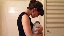 Mother's entire pregnancy captured in six-second Vine