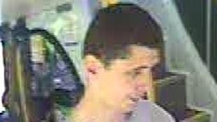 CCTV image of suspect.