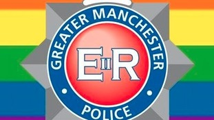 The Rainbow flag accompanies the GMP badge.