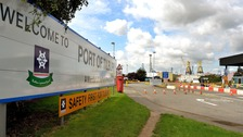 Two men due in court after Tilbury container death