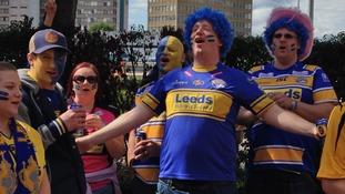The rhinos are in good voice