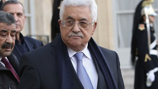 Palestine's authority president Mahmoud Abbas