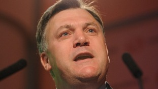Joining the Euro would be 'least worst of all the bad options,' Ed Balls said.