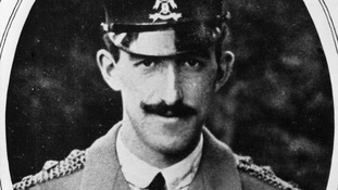 Captain Francis Grenfell, the first recipient of the Victoria Cross during WW1.